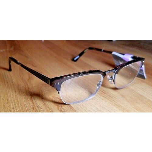 300-foster-grant-city-sights-warwick-brown-half-rim-reading-glasses-msrp35