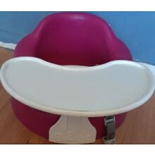 BUMBO Baby Seat with Safety Straps and Play Tray