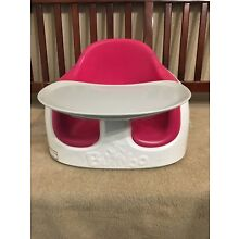 Pink Bumbo Multi Seat, Tray, Straps. Clean, Pre-owned