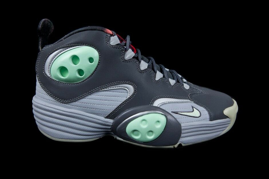 5eaaa6d8167 Details about NIKE FLIGHT ONE NRG GALAXY GLOW IN THE DARK Sizes 9-11 GREY  PENNY 520502-030