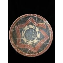Pre-Columbian Jalisco (Zacatecas style) Decorated Bowl. Ca. 200 BCE-200 AD.