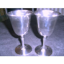 Silver Chalice -Goblets of 2