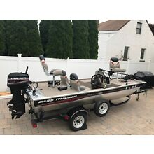 2005 Bass Tracker Pro Team 165 Boat with Trailer