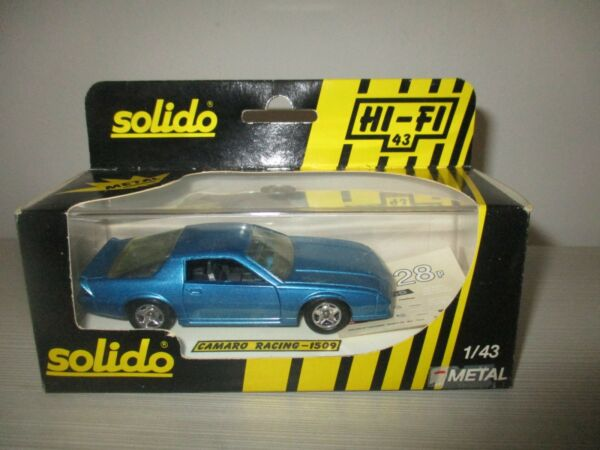 CAMARO RACING 1509 SOLIDO SCALA 1:43