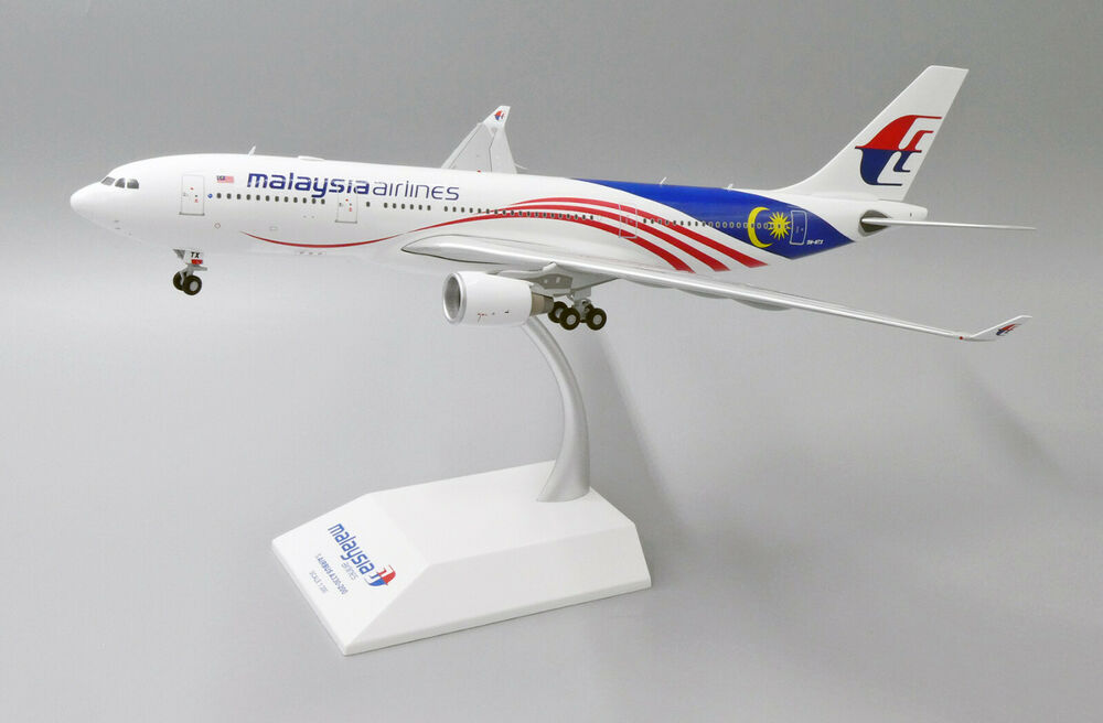 deee3a1ebf42 Details about JCLH2129 1 200 MALAYSIA AIRLINES AIRBUS A330-200 NEGARAKU  LIVERY REG  9M-MTX