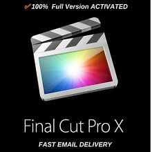 Final Cut Pro X 10.4.4 Digital Download / Instant Delivery / Lifetime License