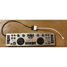 Ion iDJ2go Mobile DJ Controller with Genuine Apple Lightning to 30 Pin Adapter