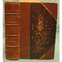1866 Antique Medical Reference  Index of Diseases; Quackery  400 Pages