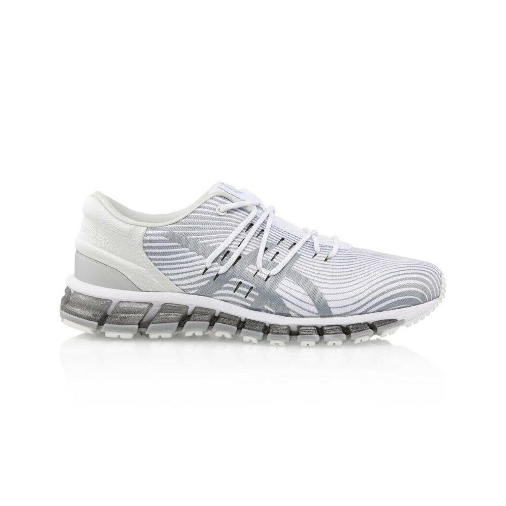 3ee769fa5f43 Details about Asics Gel Quantum 360 4 Women s shoe - White Mid Grey