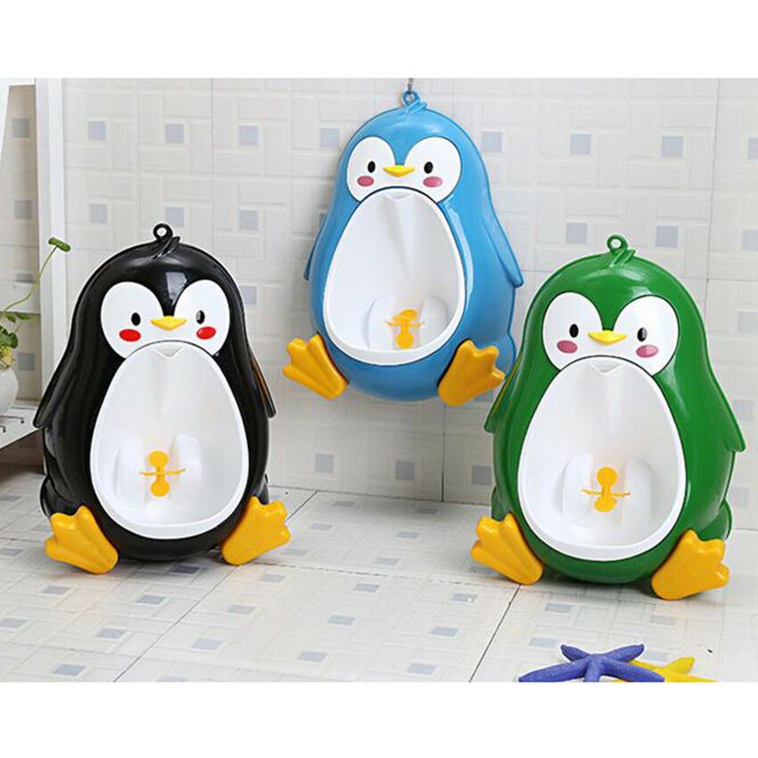 a1c22c0c956 Details about Cute Potty Toilet Training Baby Boy Children Stand Urinal Pee Toddler  Penguin