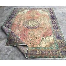 1960's ANTIQUE Persian HERIZ 6'.7