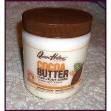 QUEEN HELENE COCOA BUTTER Face & Body Cream 15 OZ Smoothes & Softens Dry Skin
