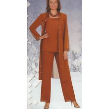 Mother of the Bride Groom Plus Sz Pant Suit w/Jacket, Wedding, Dinner Party, 30