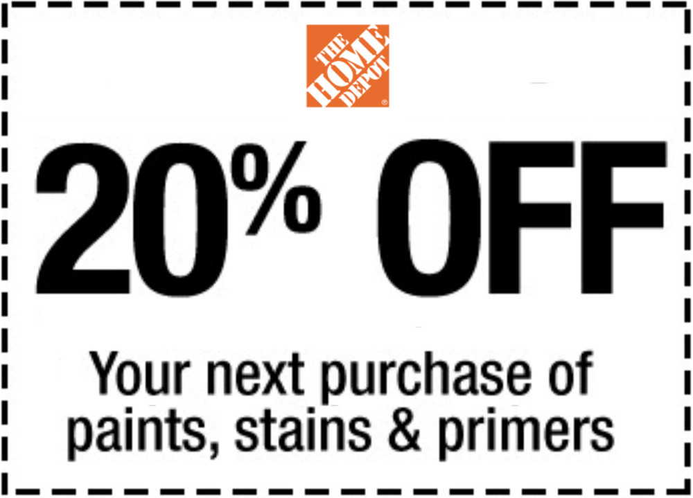 Details About Home Depot 20 Off Paint Stain Primers In Fastest Emaii Delivered