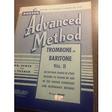 Rubank Intermediate & Advanced Method - Volume II - Trombone & Baritone