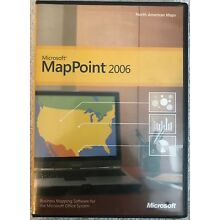 Microsoft MapPoint 2006 w/ Quick Start Guide