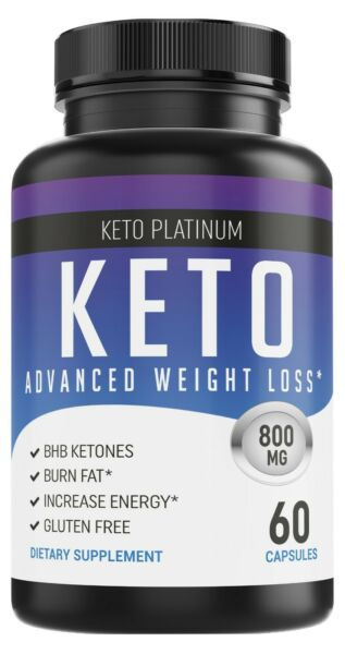 Shark Tank Keto Diet Pills - Weight Loss Fat Burner Supplement for Women & Men