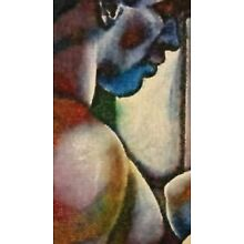 ORIGINAL Nude Male Gay Interest Acrylic on Canvas Painting-