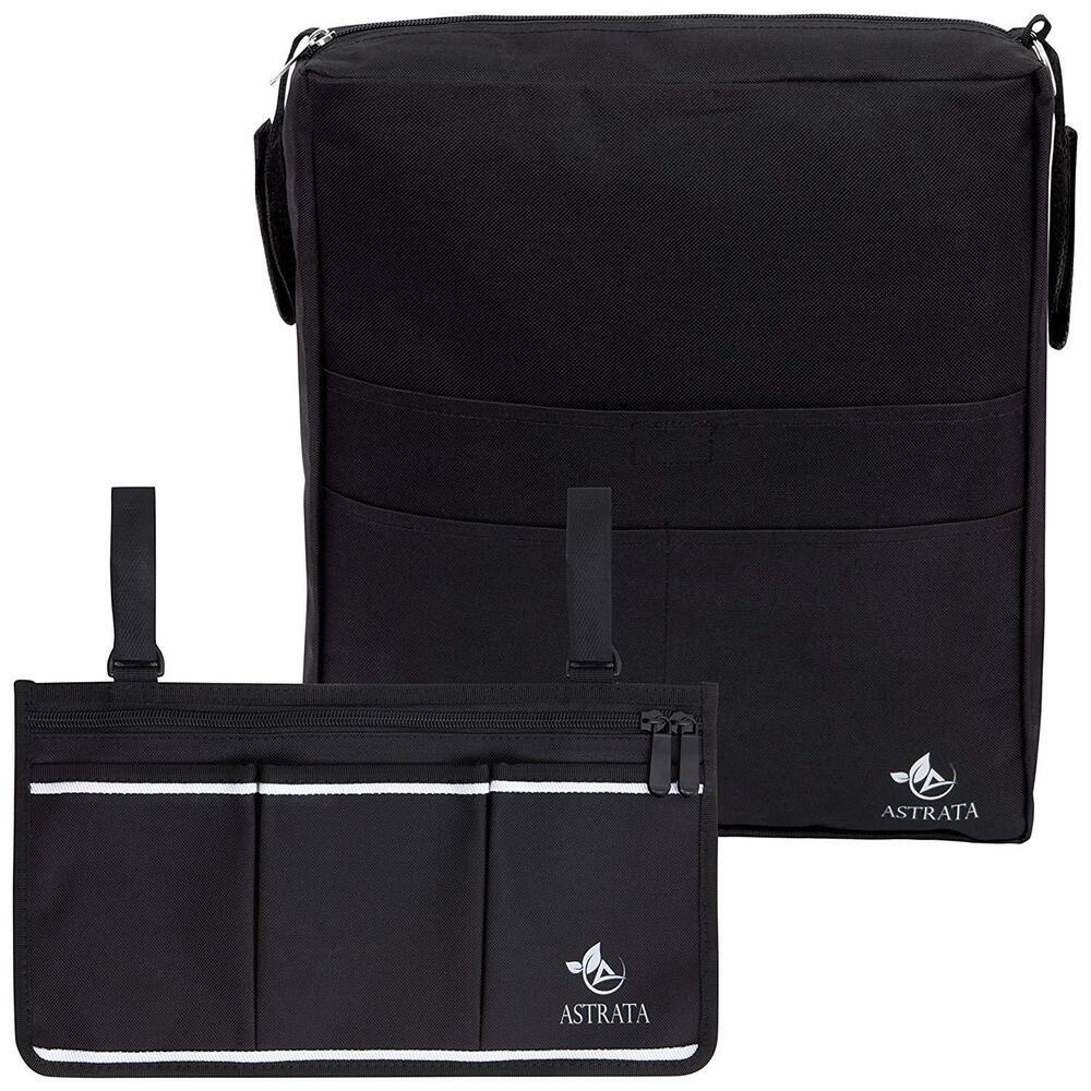 Two Bags Wheelchair Accessories By Astrata Backpack Storage And Armrest Side O Ebay
