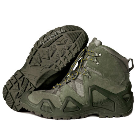 img-Men's Alligator Boots Tactical Military Garsing Olive Green New