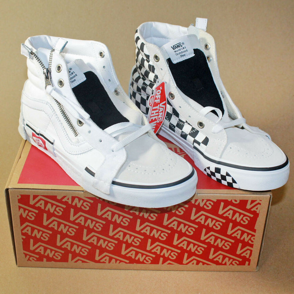 3dbe272a1d Details about Vans Checkerboard SK8-HI Reissue CAP Size 8 mens Brand New in  Hand