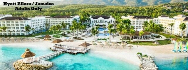 719215d189bcb Detalhes sobre VACATION PACKAGES ALL INCLUSIVE JAMAICA MONTEGO BAY RESORTS  BEACHES HYATT ZILARA