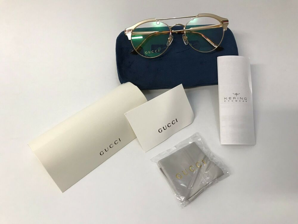 919ea4832e8 Details about New 100% Authentic Gucci Eyeglasses frames GG0289O 004