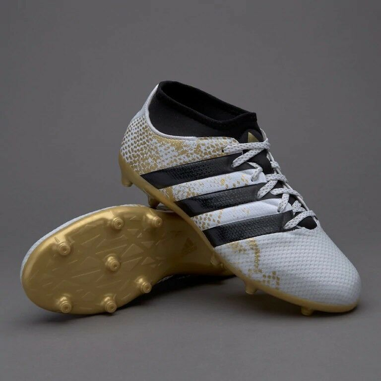 Details about Football Boots - Adidas ACE 16.3 Primemesh FG AG Junior Brand  New - Size 10 Kids 70daf784f49