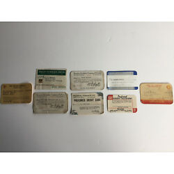 Kyпить Vintage Credit Cards, Lot of 8, 1936-1950 на еВаy.соm