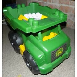 Kyпить MEGA BLOKS JOHN DEERE LARGE VEHICLE DUMP TRUCK AND 40 BLOCKS на еВаy.соm