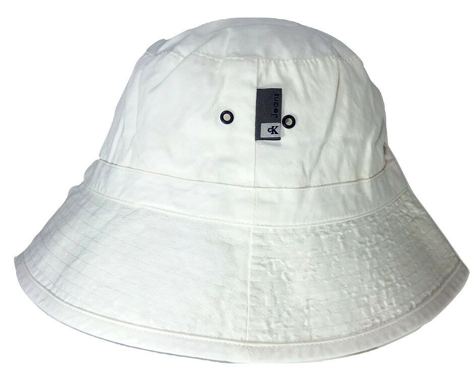 b0a2851974b71 Details about Calvin Klein Bucket Hat Made in Italy original with hologram  size M