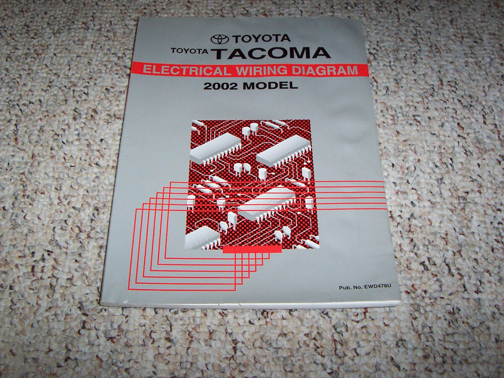 2002 Toyota Tacoma Shop Service Repair Manual Set