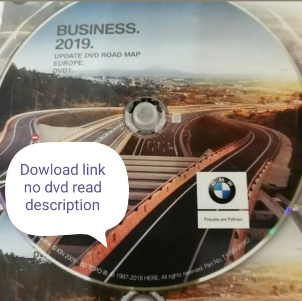 BMW MAP EUROP BUSINESS 2019 AGGIORN MAPPE NAVIGATORE BMW download all europe