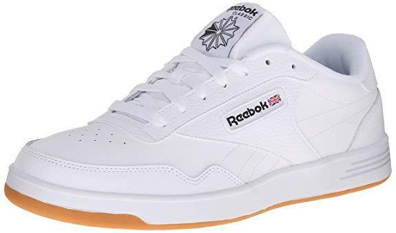 c2792c00418 Details about Reebok Club Memt Classic Athletic Shoes White Rubber Gum MF  Mens Sizes V67380