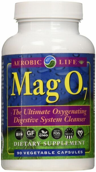 Aerobic Life MAG O7 Ultimate Digestive System Cleanser 90 Vegetable Caps Mag07