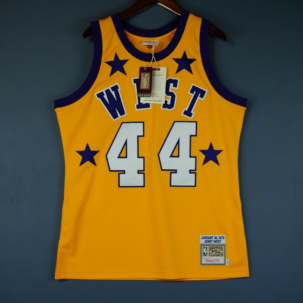 Details about 100% Authentic Jerry West Mitchell   Ness 1972 All Star Game  Jersey Size 44 L fecb5e10b