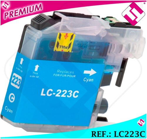 INK LC221 LC223C XL CYAN COMPATIBLE PRINTER CARTRIDGE BLUE NONOEMBROTHER