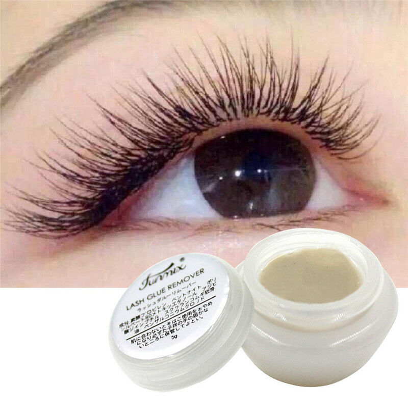 Details about 5g Pro Grape Seed Oil Makeup False Eyelash Extension Glue Remover Fast Removal
