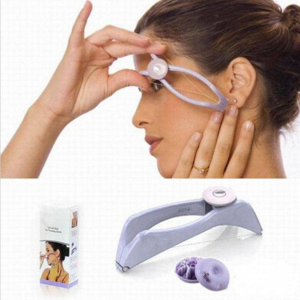 New Facial Body Hair Removal Threading Threader Epilator Makeup Beauty Tool