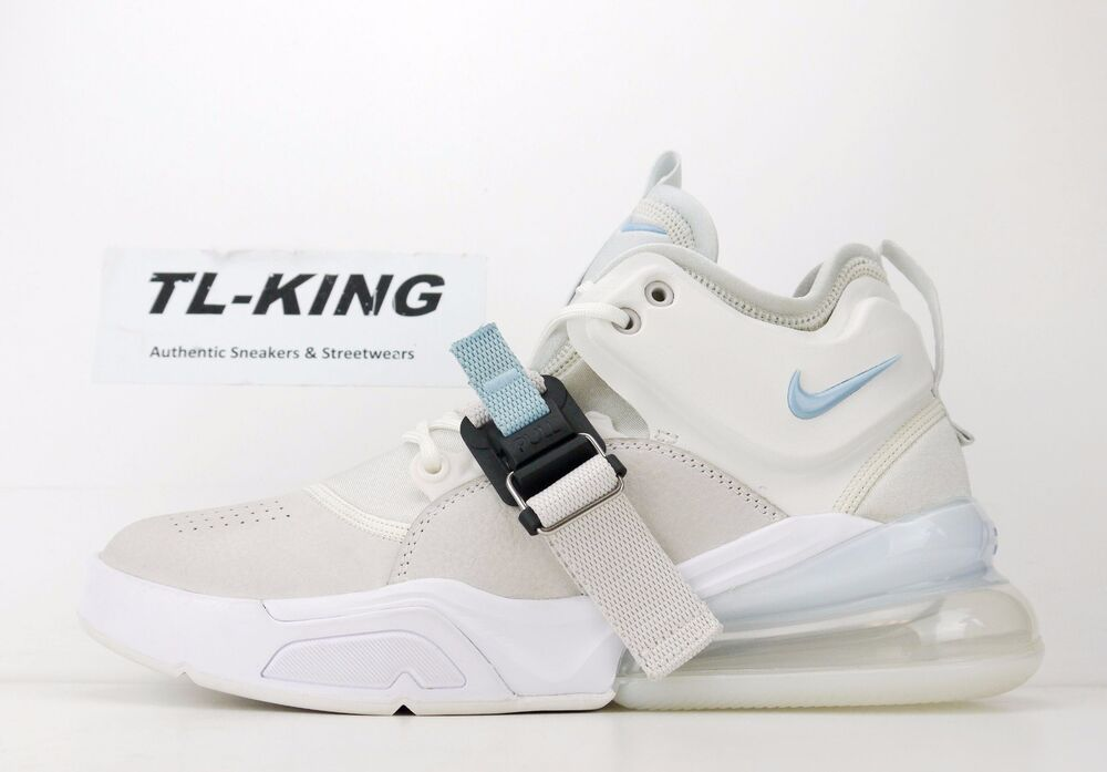 efcb071a2452 Details about Nike Air Force 270 Phantom White Leche Blue AH6772-003 CW