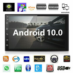 Kyпить Android 9.1 Car Stereo GPS Navigation Radio Player Double Din WIFI 7