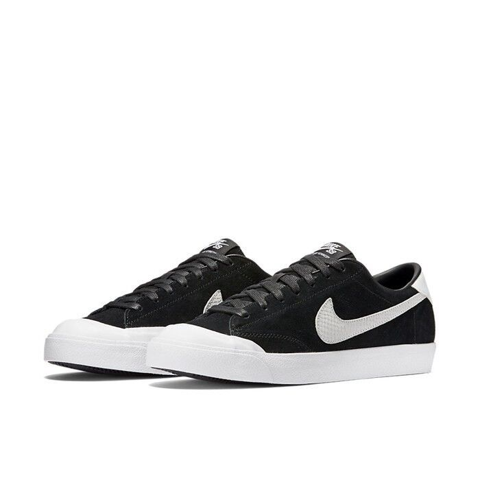 on sale f4169 adb2c Details about Nike SB Zoom All Court CK Black   White 811252-001  85