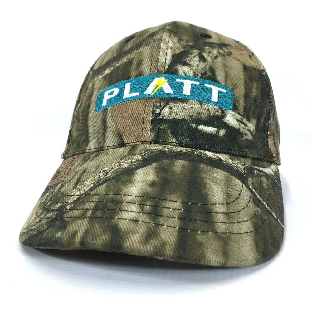 Details about PLATT ELECTRIC SUPPLY Embroidered Camo Baseball Hat Pacific  Northwest Cap Lid c8 718848f1faf