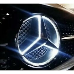 Kyпить 2015-2018 Mercedes Benz Front Star LED Emb White Light Deep Dish GLC GLE GLS на еВаy.соm