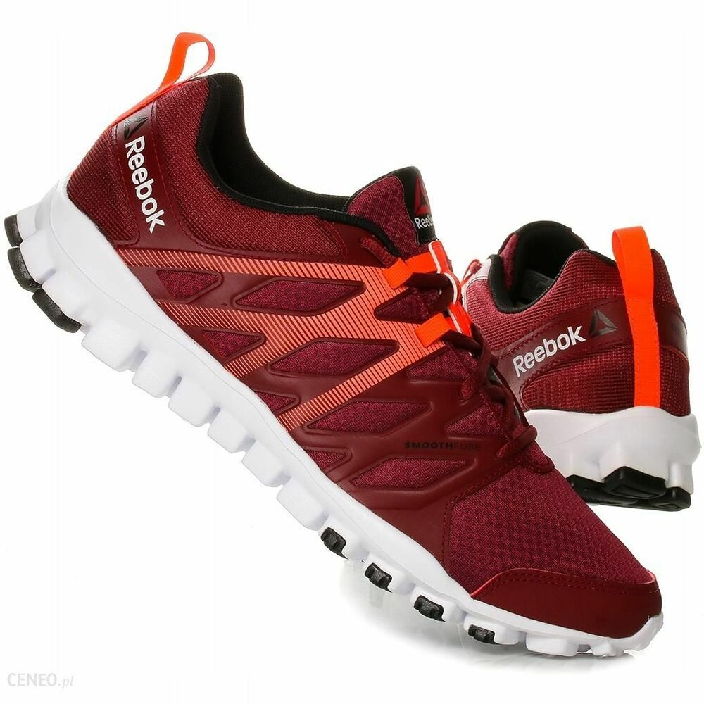 reputable site 35717 c30cf Details about REEBOK REALFLEX TRAIN 4.0 RUNNING LOW MEN SHOES RED ORANGE  AR3045 SIZE 11.5 NEW