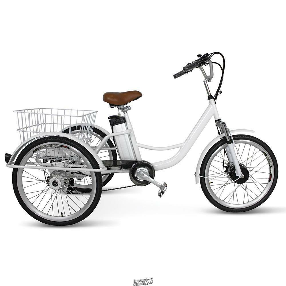 Details About Jetson Jxcycle Electric Ping Cart Bike Bicycle Tricycle 3 Wheeled Cruiser