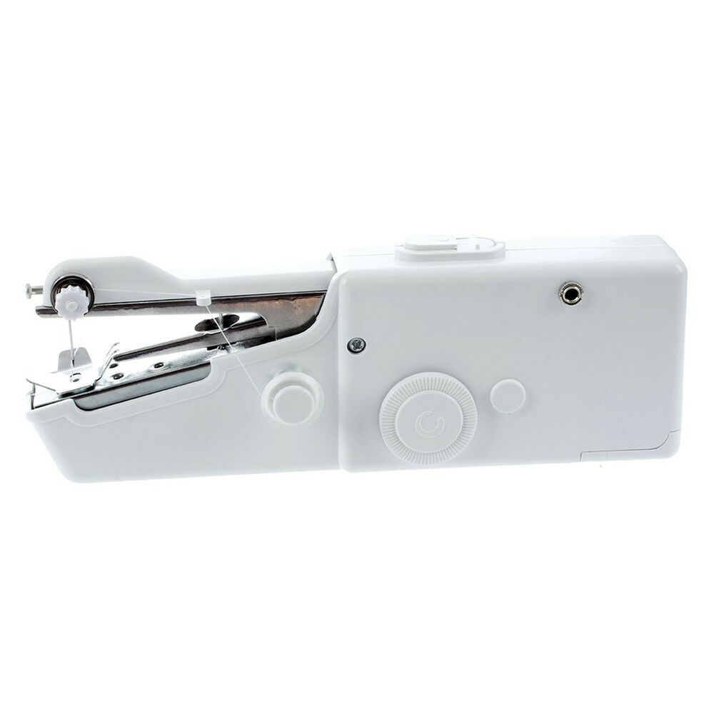 Mini Portable Handheld Cordless Sewing Machine Hand Held Stitch Home Clothes DIY