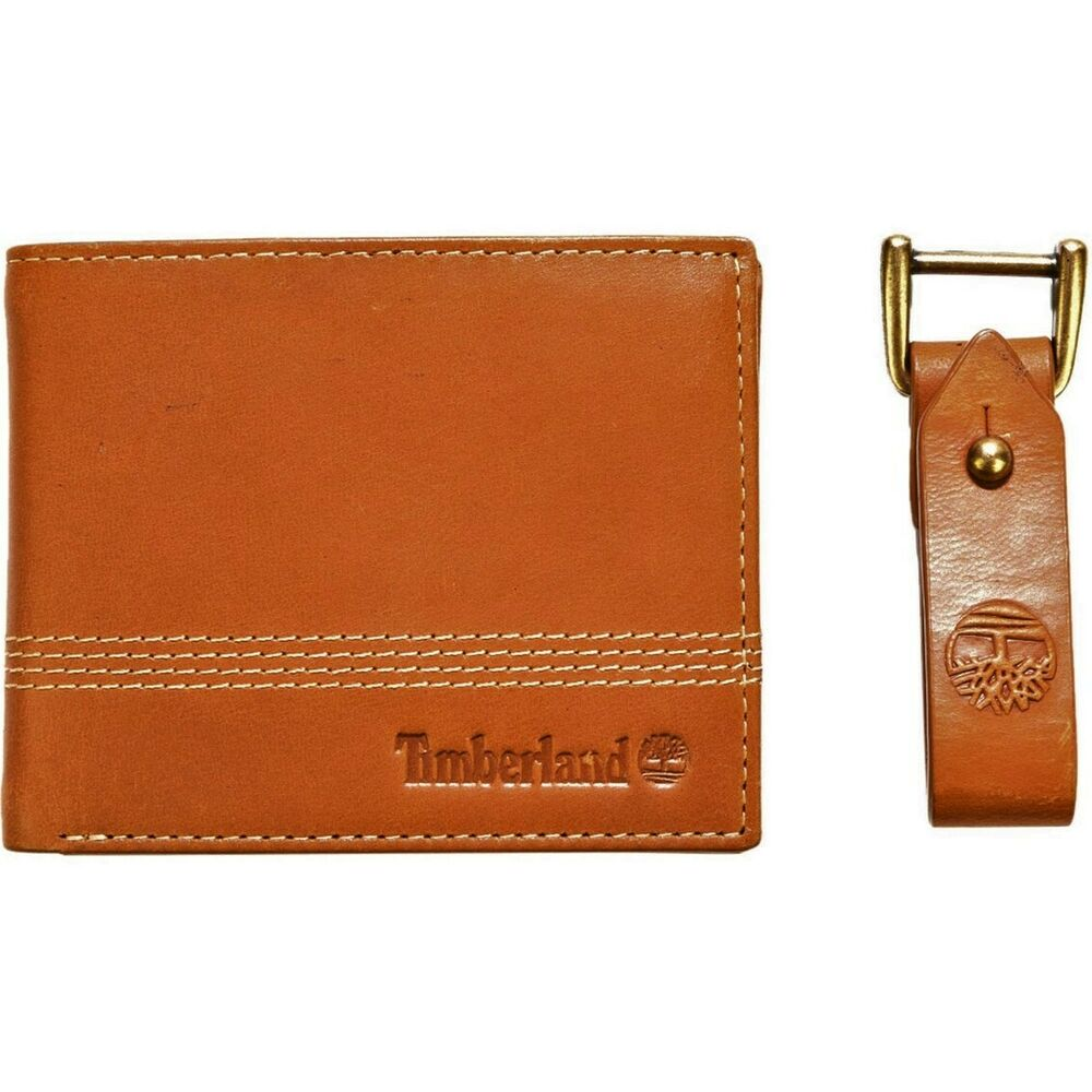 Coffret Cadeau Homme Timberland Gift Set In Leather Portefeuille