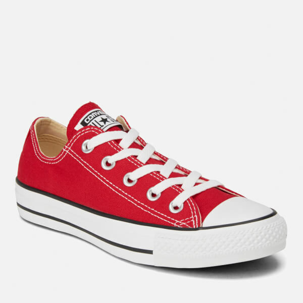 b505401e651e Details about Converse Chuck Taylor Star Red White Ox Top Mens Womens Skate  Shoes Sizes
