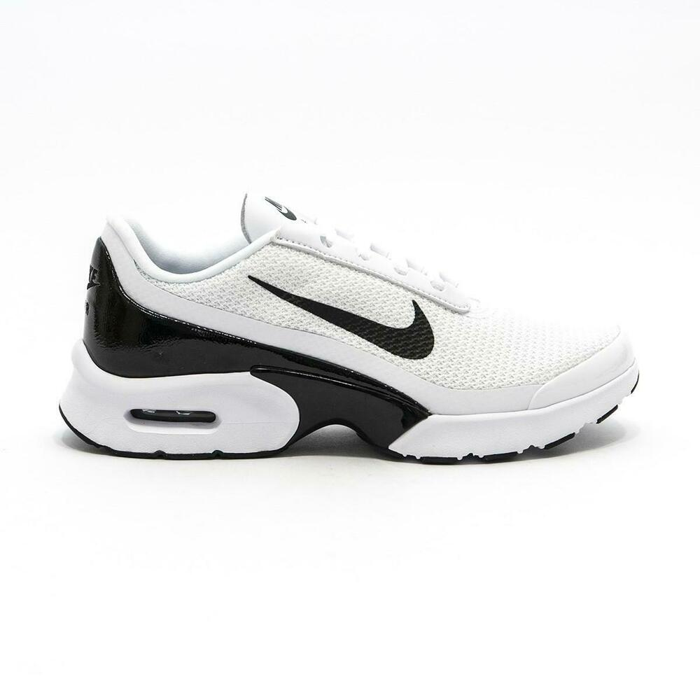 a64daa9ce7 Details about Womens NIKE AIR MAX JEWELL White Trainers 896194 100